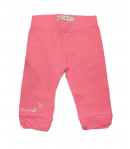 Lollipop - Krémszínű tunika lazac színű betéttel -lazac színű nadrággal