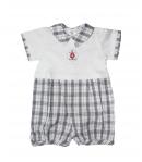 MANAI baby- Koskás mintázatú kisfiú napozó