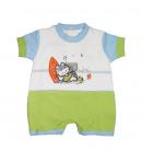F.S. Baby- Strandoló cicamintás kisfiú napozó