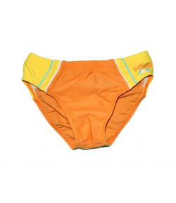 Mc baby- Narancs citrom betéttel ellátott fiú úszónadrág 116-122-es