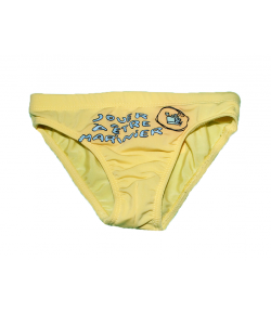 Yatsi- Sárga színű úszónadrág hajós filmnyomással