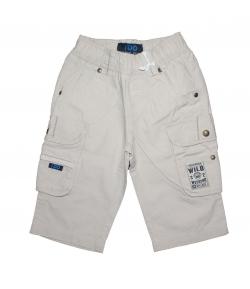 IDO- Mogyoró színű vászon nadrág. 68-as