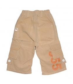 GI-GI- Mogyoró színű vékony vászon nadrág 68-as