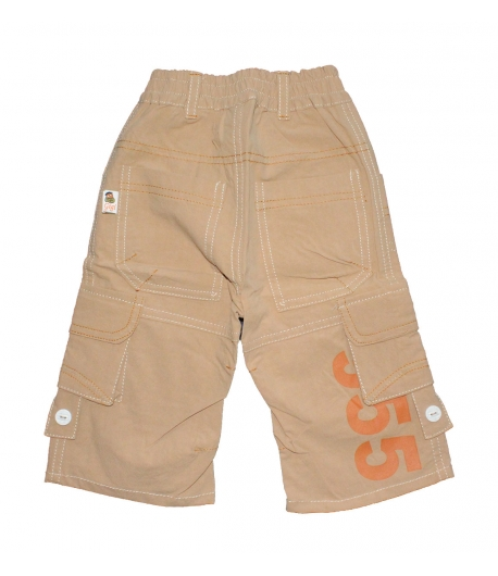GI-GI- Mogyoró színű vékony vászon nadrág 68-as badcc8bfe3