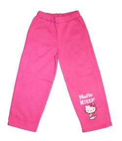 Asti - Pink bolyhos pamut szabadidő nadrág 110-es