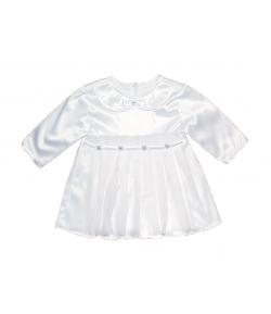DALMA- Selyem szatén anyagú keresztelőruha 62-es