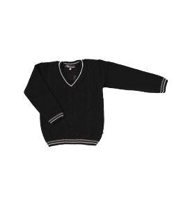 """EKO - """"V"""" nyakú , sötétkék kisfiú kötött pulóver"""