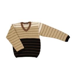 """EKO - """"V"""" nyakú fiú pulóver 128-as"""