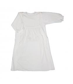 Trimex - Fehér színű, plüss hosszú ujjú hálózsák 80-as