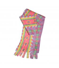 Rombusz mintával díszített színes gyerek nyaksál