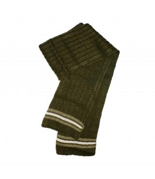 Bla-Bla ' 2000 Kft - Olajzöld színű, vastag kötött nyaksál