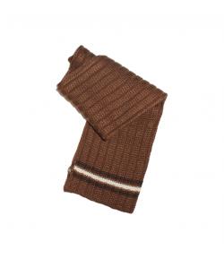Bla-Bla ' 2000 Kft - Csoki barna színű, vastag kötött nyaksál