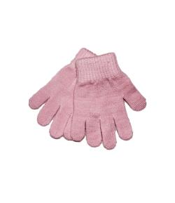 Bla-Bla -Ötujjas kötött rózsaszín gyermekkesztyű