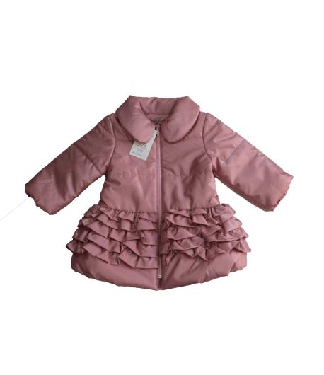 Rentex ' 95 - Mályva rózsaszín alkalmi átmeneti kabát 18 hó