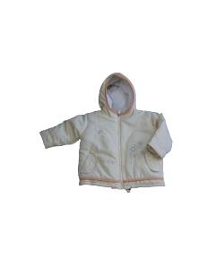 Yatsi baby - Sárga színű átmeneti kislány kabát 12 hónap