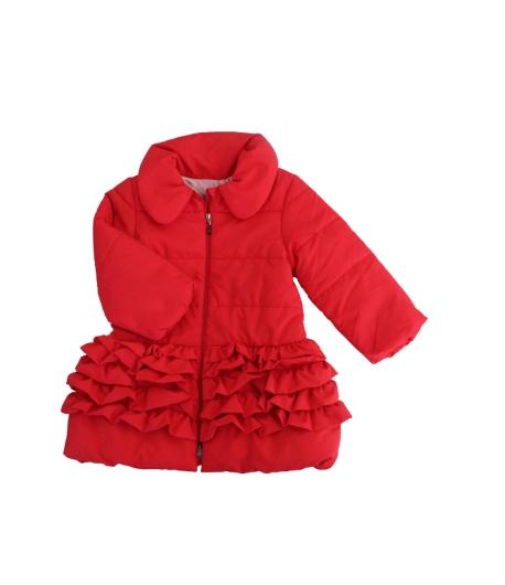 Rentex ' 95 - Pipacs piros színű alkalmi átmeneti kabát 2 év