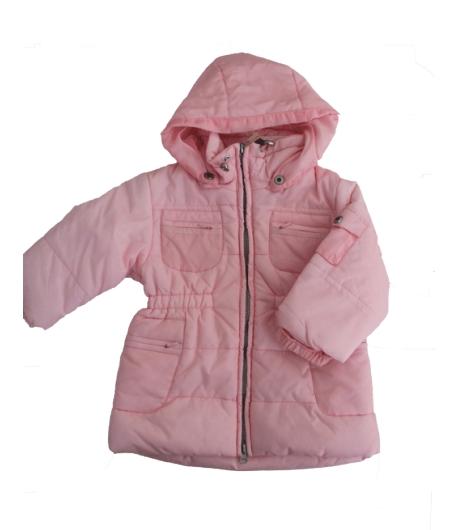 Manai - Halvány rózsaszín átmeneti kislány kabát