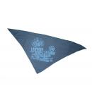 Recro Kft- Sötétkék nyomott mintás gyermekkendő