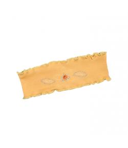 Boniface - Narancs színű, elől hímzett virággal díszített fülpánt 3év