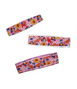 AQUA Ker Kft. - Színes virágmintás fülpánt /kétféle változatban/ 3-5 év