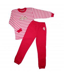 Scamp- 2 részes csíkos kislány pizsama 116-os