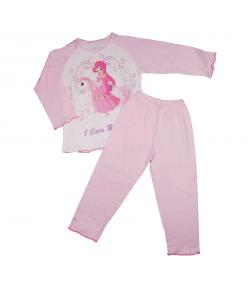 Pampress - 2 részes pony mintás csajos pizsama többféle méretben 104-110-es
