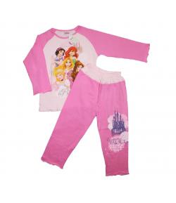 Pampress - 2 részes mesebeli hercegnő filmnyomással csajos pizsama 104-110-es