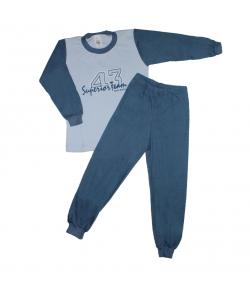 Ring - 2 részes filmnyomott felirattal díszített fiú pizsama többféle méretben