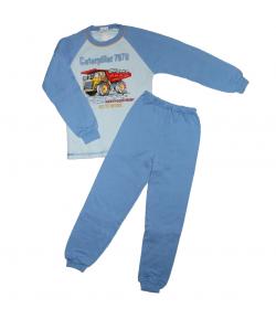 Dalma - 2 részes dömperes filmnyomással díszített fiú pizsama 116-os
