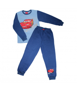 Asti- 2 részes nagy verdás filmnyomással díszített fiú pizsama pizsama 128-as