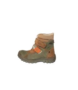 Szamos - keki -barna színű 2 tépős fiú bakancs 28-as