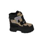 Prego Shoes - Fekete-drapp hótaposó csizma többféle méretben