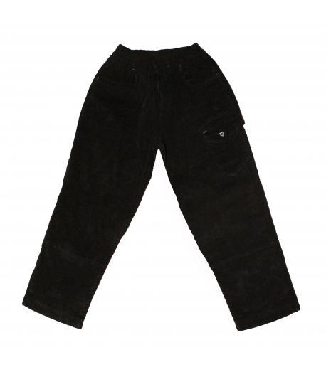 Green Apple - Bélelt fiús nadrág fekete színű 128-as