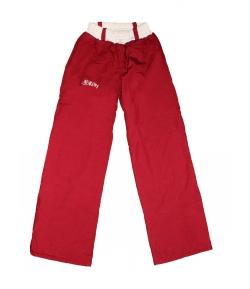 7645a596bc Killy - Bordó színű, derekán krém színnel gumírozott, polárral bélelt  kislány nadrág