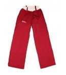 Killy - Bordó színű, derekán krém színnel gumírozott, polárral bélelt kislány nadrág