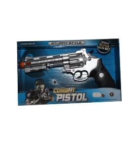 Elemmel működő játék pisztoly