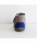 Világos szürke középkék két tépőzáras Siesta Richter cipő 21 -es