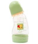 Disney Micimackó hajlított nyakú cumisüveg 150 ml