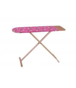 Vasaló állvány fából - pink