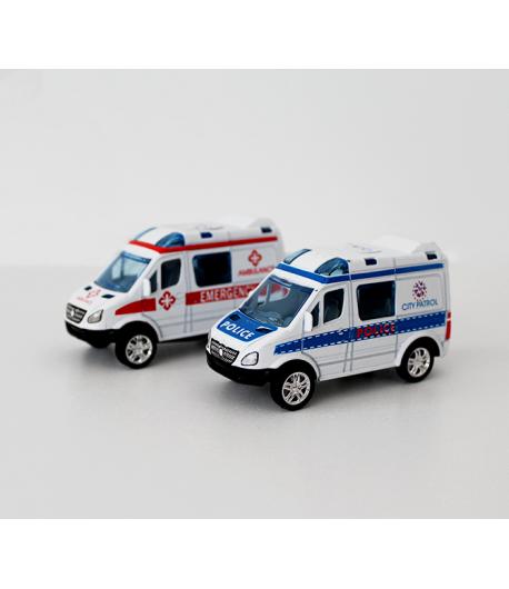 Játék mentőautó