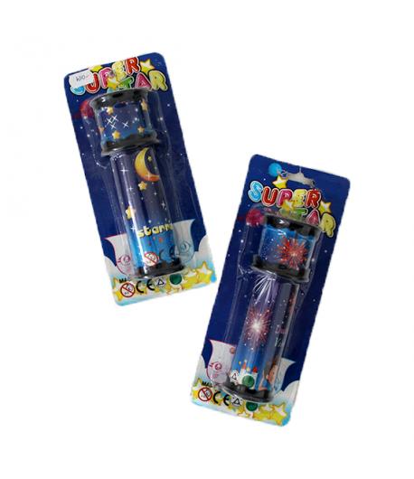 Super Star- Műanyag kaleidoszkóp gyerekeknek