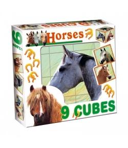 Mesekocka Mix 9 db-os - HORSES