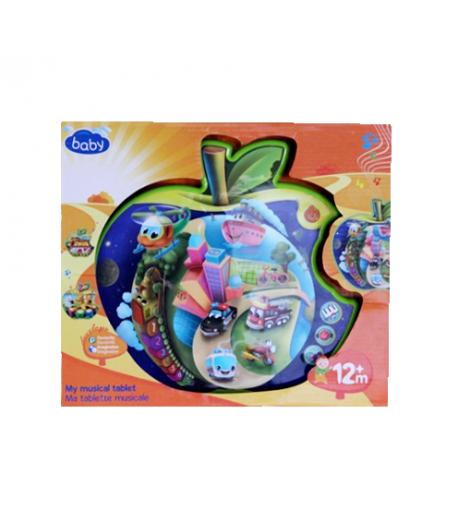 Baby Zenálő tábla - alma