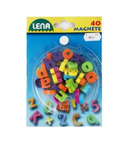 Mágneses betűk lapon