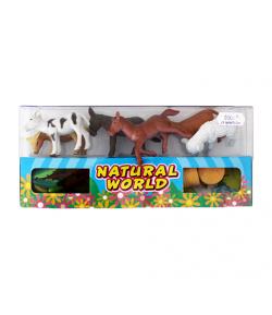 Műanyag állatfigura szett dobozban