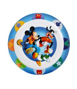 Mickey és barátai lapostányér