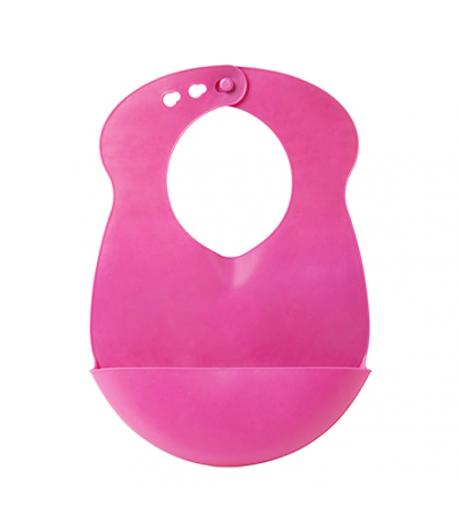 Primii Pasi Flexibilis előke - rózsaszín