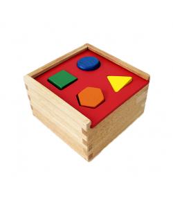 Fa szortírozó doboz