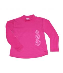 Zsil - Garbószerű pink kislány hosszú ujjú póló 128-as