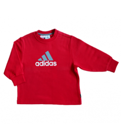 Adidas pulóver piros